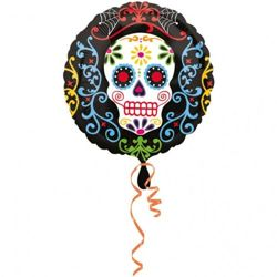 "Balon Foliowy 18"" Happy Halloween"