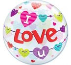 Balon Bubble 22' I Love You - baner