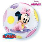 Balon Bubble 22' Minnie Mouse Baby