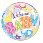 Balon Bubble 22' Welcome Baby