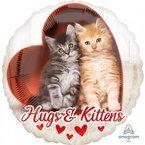 "Balon Foliowy 17"" Kotki Hugs and Kittens"