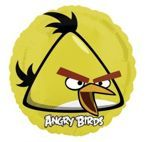 Balon Foliowy 18' Angry Birds - Yellow Bird