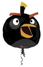 Balon Foliowy 24' Angry Birds - Black Bird