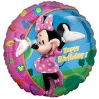"Balon foliowy 18"" Myszka Minnie Happy Birthday"