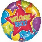"Balon foliowy 18"" Welcome Back"