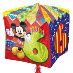 "Balon foliowy CUBEZ 15' Mickey Mouse cyfra ""6"""