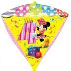 "Balon foliowy DIAMONDZ Minnie Mouse cyfra ""4"""