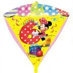 "Balon foliowy DIAMONDZ Minnie Mouse cyfra ""6"""