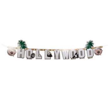 Hollywood - Baner z napisem 135cm